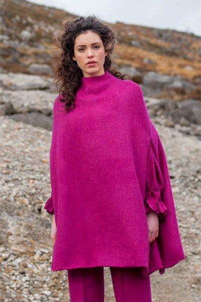 Magenta will cape