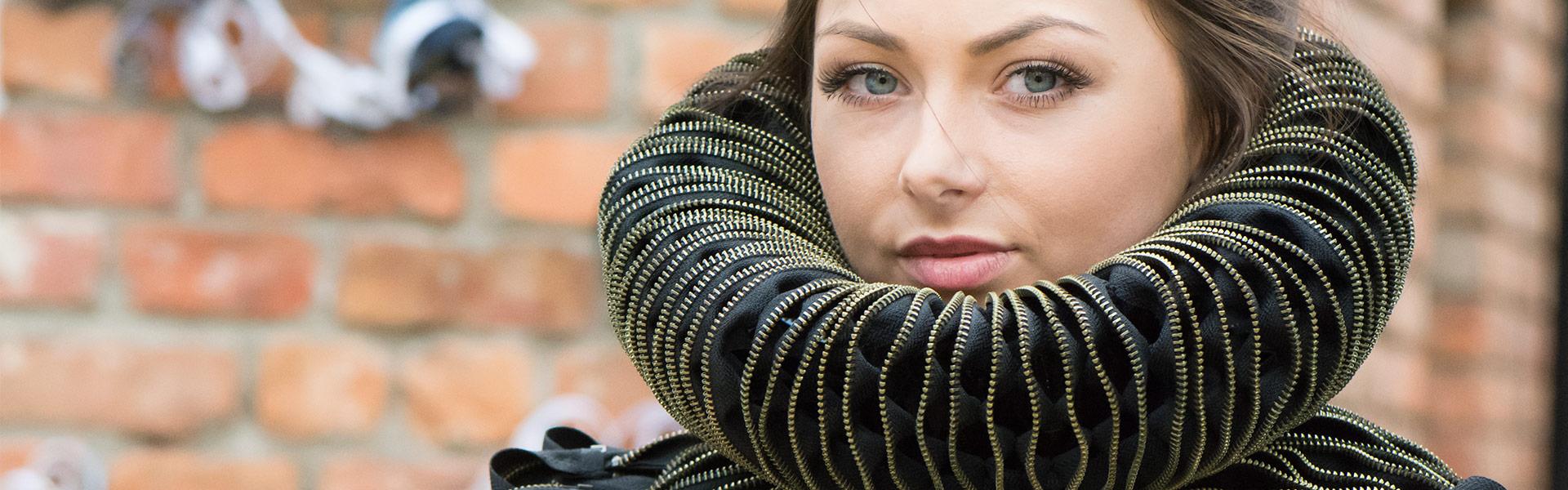 Textile art piece