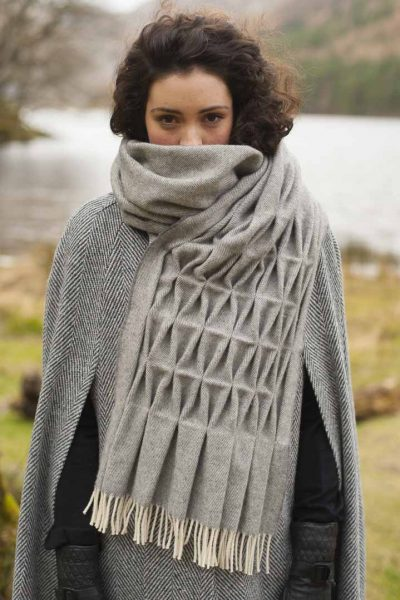 grey-pashmina-handmade-wool-scarf